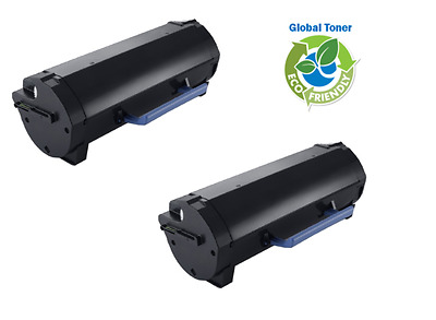 2 X 8.5K Toner Cartridge for Dell S2830DN S2830N H/Y Toner GGCTW 593-BBYP