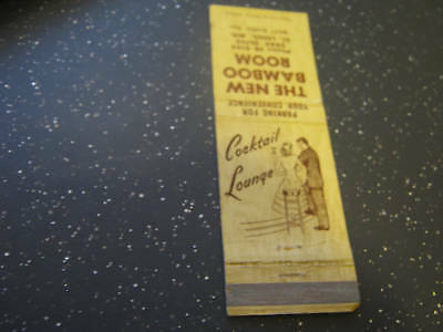 The New Bamboo Room Ph FR 9199 St. LOuis MO Matchbook