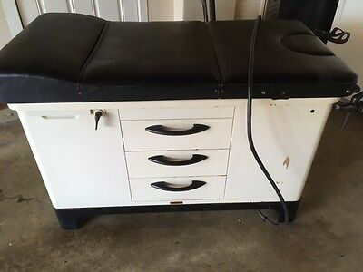 Vintage Hamilton Medical Exam Table Tattoo Medical Gynecology 1950's