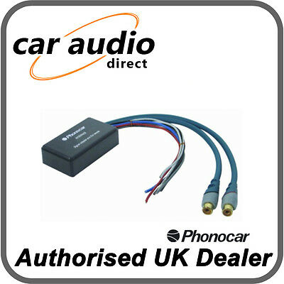 Phonocar 5/142 Line Level Converter inc remote