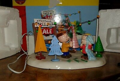 Department 56 peanuts Christmas tree sale