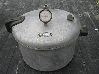 Aluminum Made Of Honor Aluminum Pressure Cooker Vintage good decor only