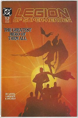 LEGION of SUPERHEROES #37, 38 Death of SUPERBOY (COMPLETE Story) VF/NM (9.0)