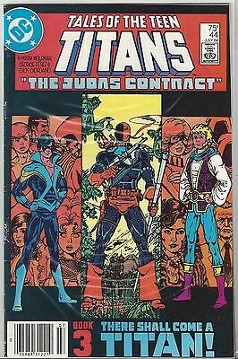 TALES of TEEN TITANS #44 KEY 1st NIGHTWING Judas Contract COMPLETE NM- (9.2) SET