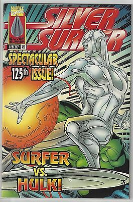 SILVER SURFER #125 vs the Incredible HULK Dowble Sized Wraparound NM- (9.2)