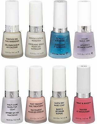 REVLON* TOP/BASE COAT NAIL CARE TREATMENT Original Polish *YOU ...