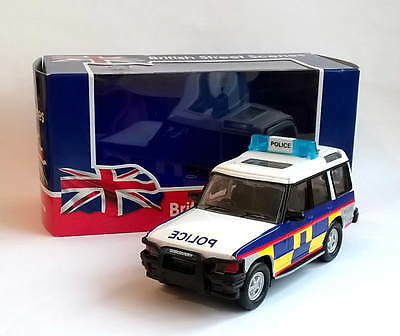 LAND ROVER DISCOVERY POLICE - Die-Cast & Plastic Model Toy - Richmond Toys New