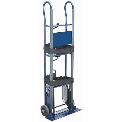 New! 600 Lb. Capacity Appliance Hand Truck Solid Rubber Wheels Stair Climbers