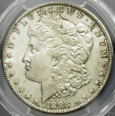 1898-O Morgan Dollar - PCGS MS63 - Certified Graded Silver $1 Coin Mint State