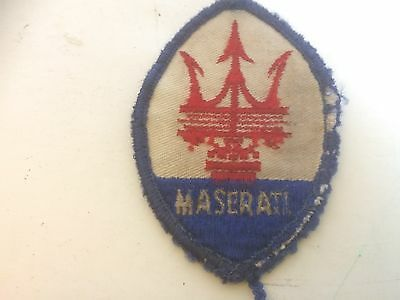 Vintage Maserati and Porsche Patches