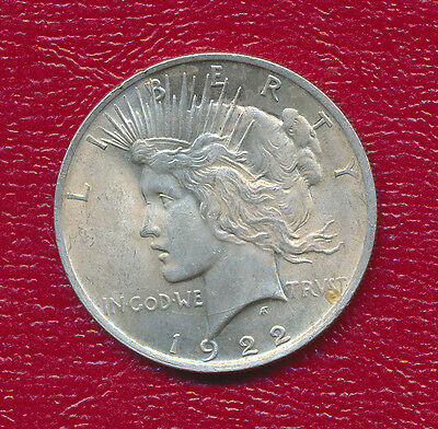 1922 Peace Silver Dollar **very Nice Lightly Circulated**