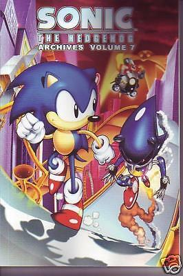 Sonic The Hedgehog Archives volume 7 comic