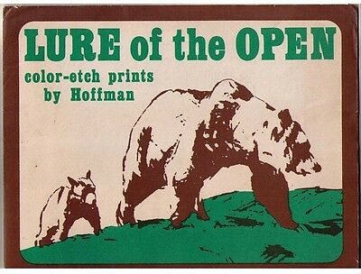 LURE OF THE OPEN - Set of 4 Color-etch Prints by Hoffman