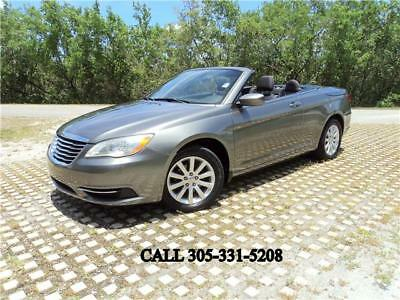 2012 Chrysler 200 Series Touring Carfax certified Convertible beauty 2012 Chrysler 200 Touring Carfax certified Convertible beauty