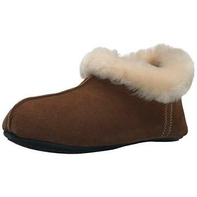Pajar 8065 Womens Doris Brown Suede Slip On Bootie Slippers Shoes 37 BHFO