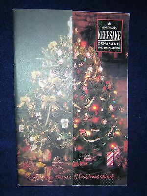 Hallmark Keepsake Dream Book Catalog 1992 Very Good Condition