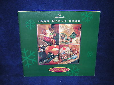 Hallmark Keepsake Dream Book Catalog 1995 Good Condition