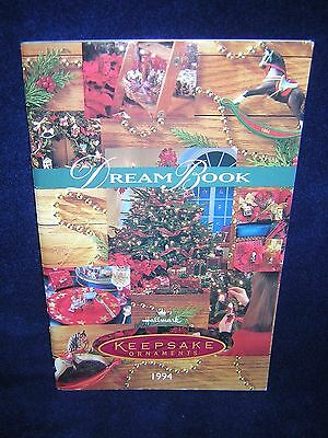 Hallmark Keepsake Dream Book Catalog 1994 Very Good Condition