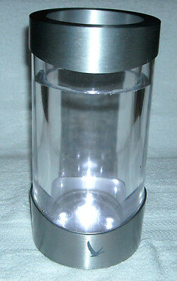 Grey Goose Vodka Lighted  Bottle Chiller Battery Operated Metal & Plexi Glass
