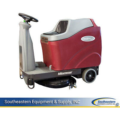 New Minuteman MAX Ride 26 Rider Floor Scrubber