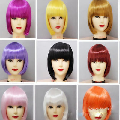 Children BOBO head short hair COSPLAY Kids Wigs Cosplay Party