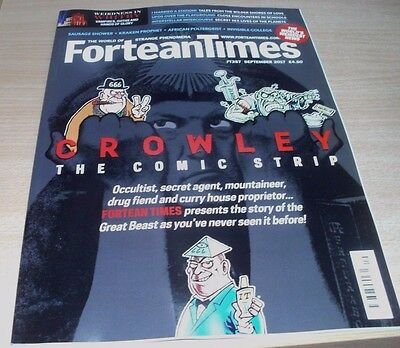 Fortean Times magazine FT357 SEP 2017 Crowley, Sausage Shower, Married a Station