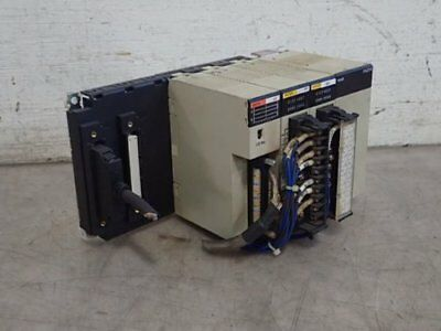 Omron Expansion Rack With I/o Modules & Power Supply, C200Hw-Pa204, Oc225,