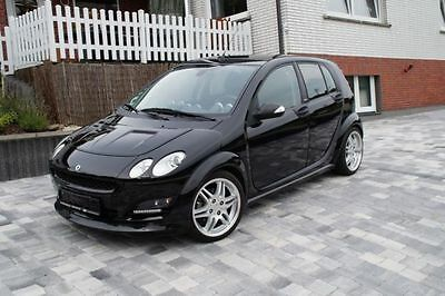 Smart forfour Brabus Xclusive Vollausst. 40120km