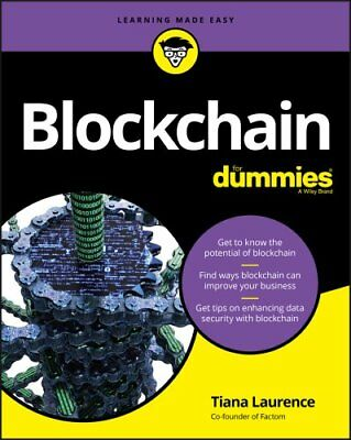 Blockchain For Dummies by Tiana Laurence 9781119365594 (Paperback, 2017)