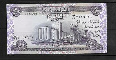 Iraq #90 UNC  2003  50 Dinars Banknote. PAPER MONEY CURRENCY NOTE BILL