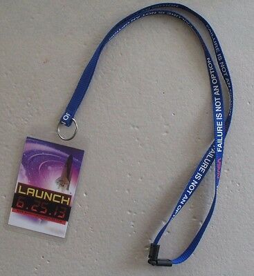 Mannheim Steamroller The Music Of The Spheres Backstage Pass VIP w/ NASA Lanyard