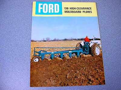 Ford 130 High-Clearance Moldboard Plows Color Brochure