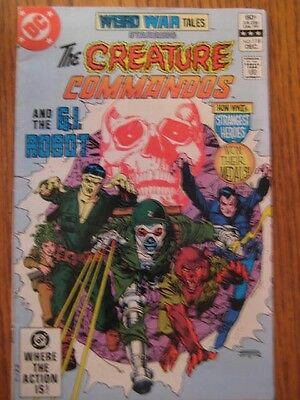 Weird War Tales # 118 (1982) Creature Commandos! How they won their Medals Fn