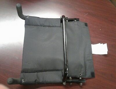 Invacare Pronto M71 sure step power wheelchair seat back assembly with push hand