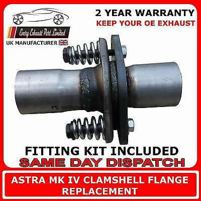 Opel Vauxhall Astra / Zafira Replacement Flange Repair Kit For Back Box Exhaust