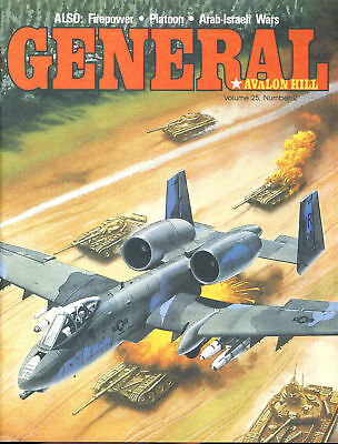 GENERAL Vol.25 No.2 Avalon Hill The Laager South Africa's War & Firepower, PL...