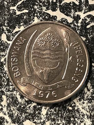 1976 Botswana 10 Thebe Lot#6828 High Grade! Beautiful!
