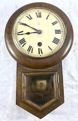 Miniature Drop Dial Wall Clock By The Maker H.A.C tiny 5.25 inch  dial