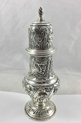 English Solid Silver Sugar Shaker/sifter