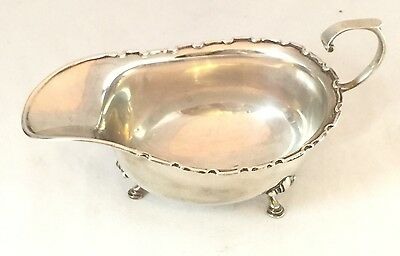 Beautiful Solid Sterling Silver Grave Jug Large Birmingham 1933 Adie Brothers Lt