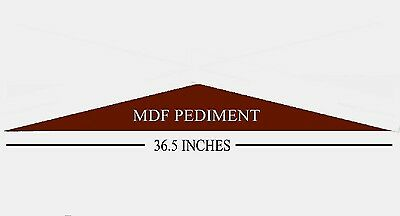 Mdf Wooden Overdoor Pediment Moulding