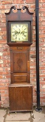 8 Day Grand Father Clock By The Maker High Roberts Of Llangefni