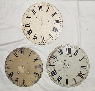 5 Fusee Wall Clock Dials Including A GPO One
