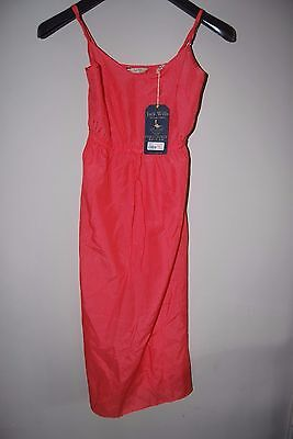 Girls Ladies Womens Jack Wills Dress New With Tags Coral Size 6