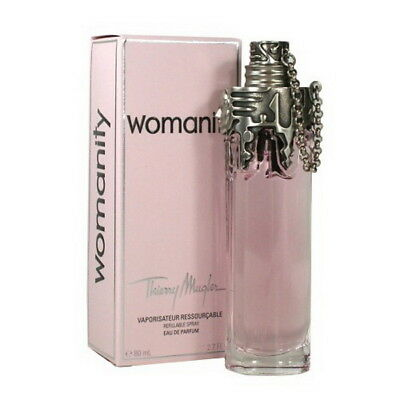 Thierry Mugler Womanity 80ml EDP Refillable Spray Originalverpackt!!