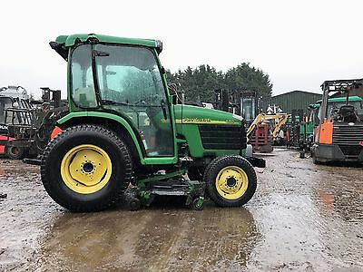 john deele 4310 compact tractor with mowers 3 point linkage full cab