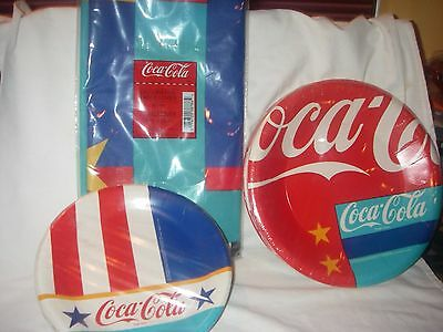COCA COLA 100 Pack Paper Napkins White Dinner Tissue Towel Box Case ...