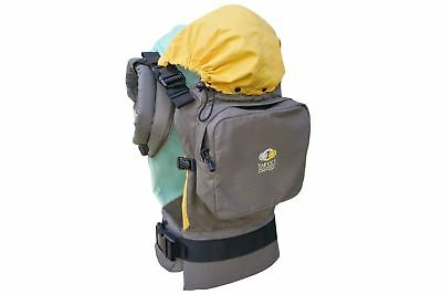 TwinGo Baby Carrier-Separates-2 Single Carriers-Grey,Green,Yellow-(Box Damaged)