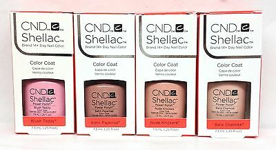 Cnd Shellac Gel Polish - INTIMATES Collection 0.25oz/7.3ml - Pick Any Color