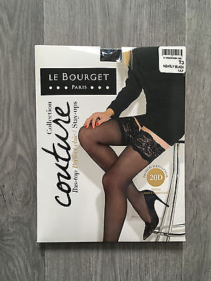 Bas top perfect chic Le Bourget Taille 3 Nearly black